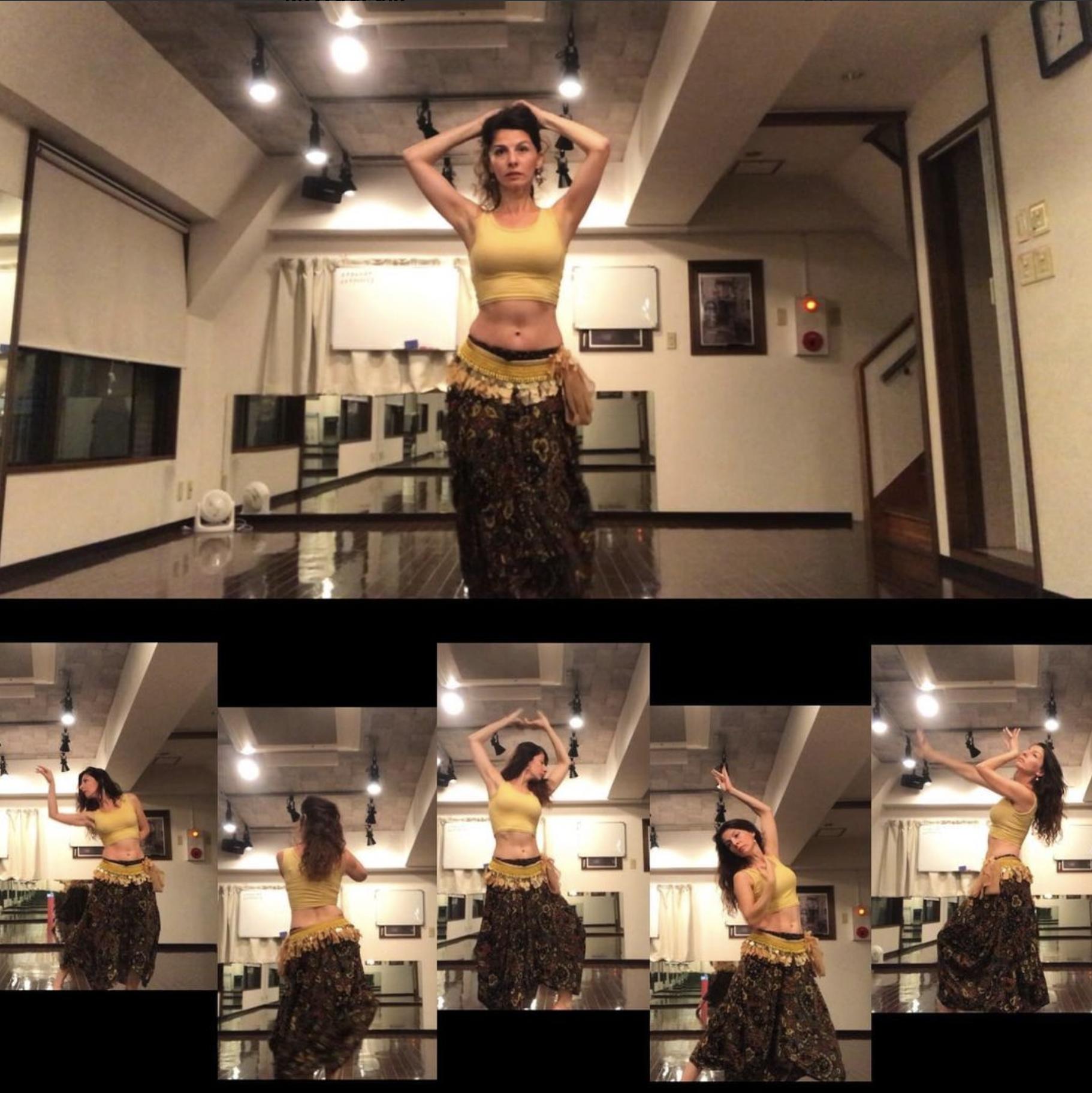 ベリーダンス教室、東京、渋谷、横浜
